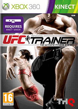 UFC Personal Trainer Xbox 360 Kinect Cover Art