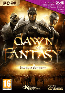 Dawn of Fantasy PC Games Cover Art