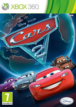 Cars 2 Xbox 360 Cover Art