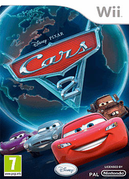 Cars 2 Wii Cover Art