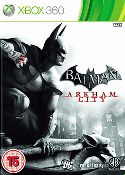 Batman: Arkham City Xbox 360 Cover Art