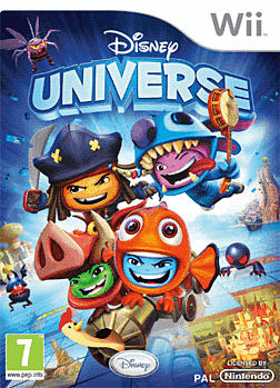 Disney Universe Wii Cover Art