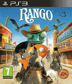 Rango PlayStation 3 Cover Art