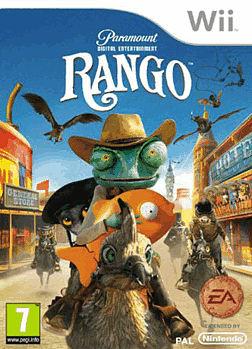 Rango Wii Cover Art