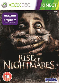 Rise of Nightmares (Kinect Compatible) Xbox 360 Kinect Cover Art