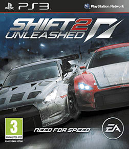 Shift II: Unleashed PlayStation 3 Cover Art