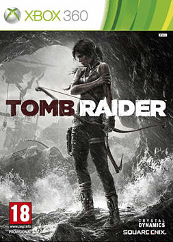 Tomb Raider Xbox 360 Cover Art