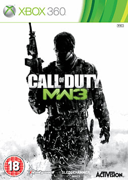 Call of Duty: Modern Warfare 3 Xbox 360 Cover Art