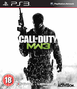 Call of Duty: Modern Warfare 3 PlayStation 3 Cover Art