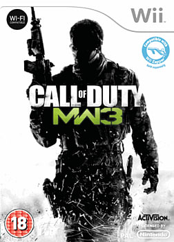 Call of Duty: Modern Warfare 3 Wii Cover Art