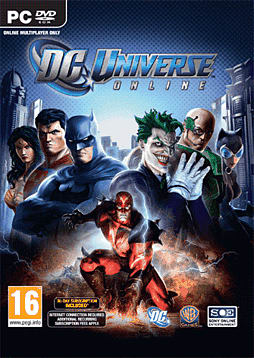 DC Universe Online PC Games and Downloads Cover Art