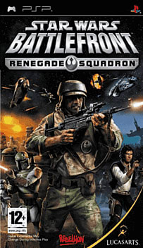 Star Wars Battlefront Renegade Squadron PSP Cover Art