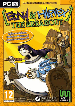 Edna and Harvey: The Breakout Collectors Edition PC Games and Downloads Cover Art