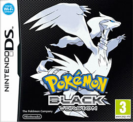 Pokemon Black Version DSi and DS Lite Cover Art