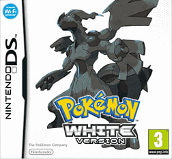 Pokemon White Version DSi and DS Lite Cover Art