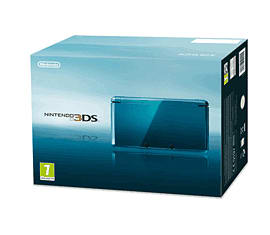 Nintendo 3DS Aqua Blue 3DS - Aqua Blue 