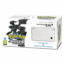 White Nintendo DSi with Pokemon White Version DSi and DS Lite