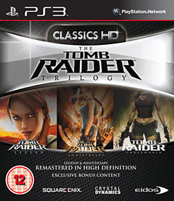 Tomb Raider Trilogy PlayStation 3 Cover Art