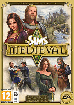 The Sims: Medieval Limited Edition PC Games and Downloads Cover Art