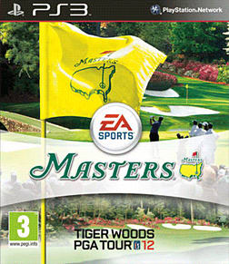 Tiger Woods PGA Tour 12: The Masters Playstation 3 Cover Art