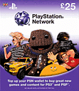 PlayStation Network Card - 25 Accessories