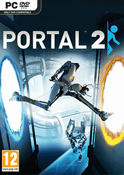 Portal 2 PC Games Cover Art