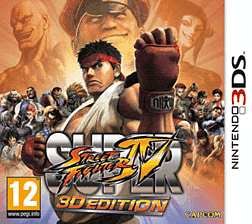Super Street Fighter IV 3D 3DS Cover Art