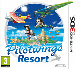 Pilotwings Resort 3DS Cover Art