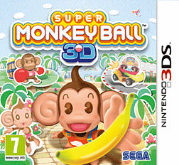 Super Monkeyball 3DS 3DS Cover Art