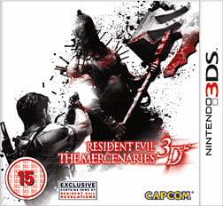 Resident Evil Mercenaries 3D 3DS Cover Art