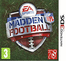 MADDEN 3DS 3DS Cover Art