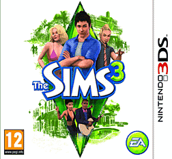 The Sims 3 3DS 3DS Cover Art