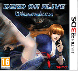 DEAD OR ALIVE Dimensions 3DS Cover Art