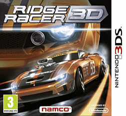 Ridge Racer 3D 3DS Cover Art