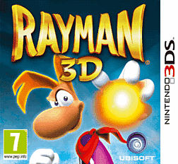 Rayman 3D 3DS Cover Art