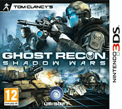 Tom Clancy's Ghost Recon: Shadow Wars 3D 3DS Cover Art