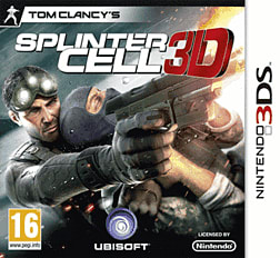 Tom Clancy's Splinter Cell 3D 3DS Cover Art