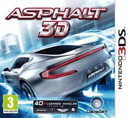 Asphalt 3D 3DS Cover Art