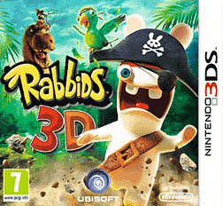 Rabbids 3D 3DS Cover Art