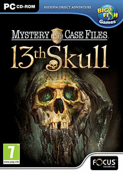 Mystery Case Files: 13th Skull PC Games Cover Art