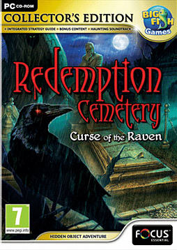 Redemption Cemetery: Curse of Ravens Collector's Edition PC Games Cover Art