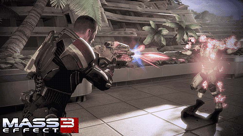 Taking out the Reapers in Mass Effect 3