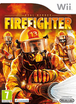 Real Heroes Firefighters Wii Cover Art