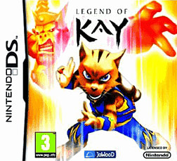 Legend of Kay DSi and DS Lite Cover Art