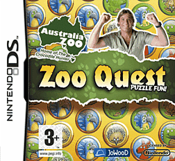 Zoo Quest DSi and DS Lite Cover Art