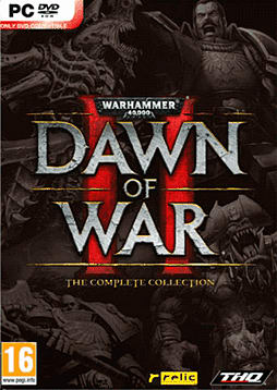 Warhammer 40k Dawn of War 2 Retribution Complete Edition PC Cover Art