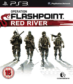 Operation Flashpoint Red River PlayStation 3 Cover Art