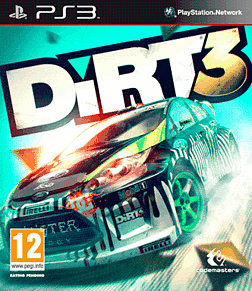DIRT 3 PlayStation 3 Cover Art
