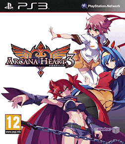 Arcana Heart 3 PlayStation 3 Cover Art