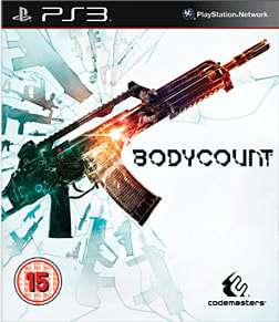 Bodycount PlayStation 3 Cover Art